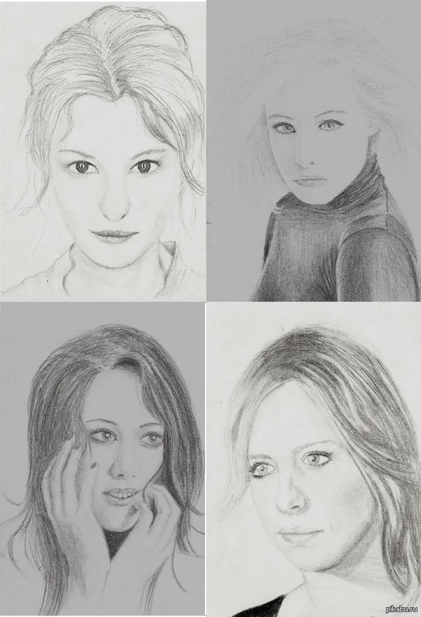 просто рисунки: