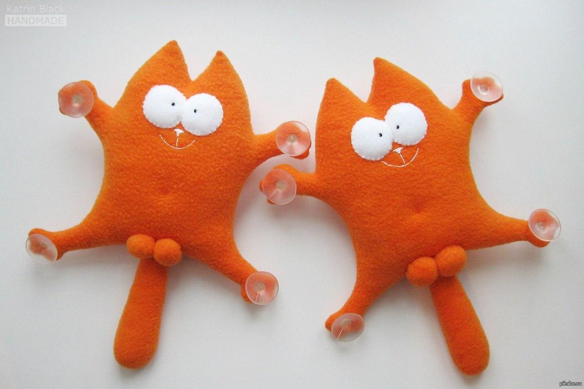 Коты мягкие игрушки своими руками