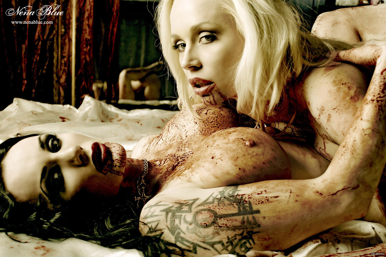 Nude vampire models exploited photo